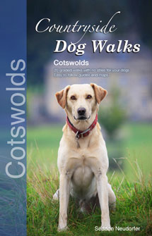 Countryside Dog Walks in the Cotswolds book cover