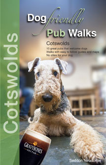 Dog Friendly Pub Walks in the Cotswolds book cover
