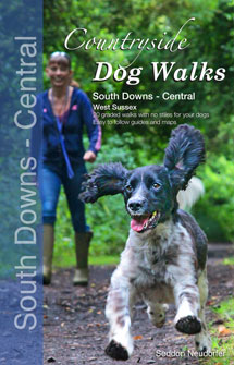 Countryside Dog Walks in South Downs Central book cover
