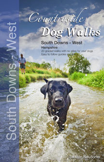 Countryside Dog Walks in South Downs West book cover