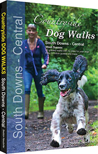 Countryside Dog Walks in the South Downs Central book