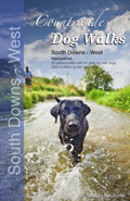 Countryside Dog Walks in South Down West book cover